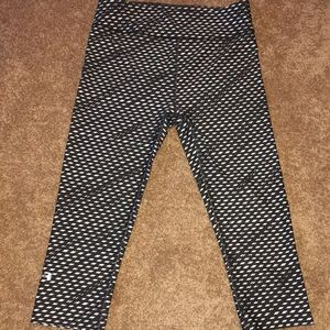 Under armour cropped workout pants